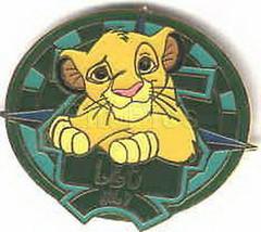 Simba  Lion King Zodiac LEO LE retired authentic Disney pin - $33.85