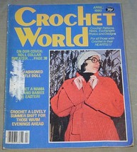 Crochet World April 1980 - $7.43