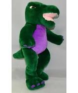 "Noah's Ark Animal Workshop 15"" Plush Dinosaur Green & Purple EUC W/ TAG - $9.85"