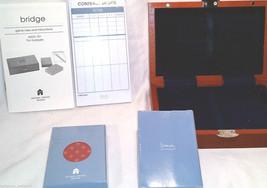Architect Michael Graves card game cherry Bridge  set Hasbro Parker Brot... - $29.95