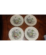"Royal Doulton The Kirkwood D5130  8 1/2"" SALAD Bowls lot of 4 - $24.00"