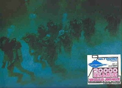 Divers 20,000 Leagues Under the Sea Divers  Lobby Card