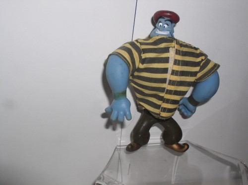 The Genie in striped shirt  from Disney Aladdin Mattel 1992 Figurine