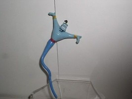 The Genie long and skinny PVC and Rubber from Disney Aladdin Figurine - $14.99