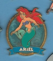 Little Mermaid Princess Ariel Swirl  Authentic Disney pin - $39.99