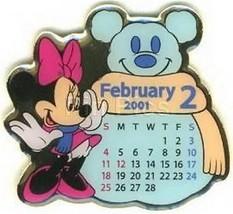 Minnie Mouse Japan Calendar Authentic Disney Japan Pin - $16.98