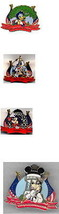 Goofy Donald Mickey Minnie USA set 4 Authentic Disney Pinpins - $68.98