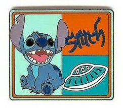 Stitch with spaceship from Lilo and Stitch authentic Disney  pin - $15.59