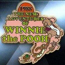 Winnie the Pooh New Adventures 1988 Authentic Disney Pin No card - $19.34