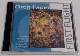 FIRST FLIGHT by Oren Fader - 2004 CD - NEW & SEALED - $6.99