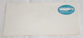 RARE UNUSED HERMAN MELVILLE MOBY DICK WHALE UNITED STATES 6c ENVELOP STA... - $9.18