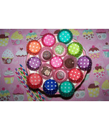 Cupcake Liners-Mini Size Cupcake &Candy Liners You Pick Colors 4 Dozen 4... - $8.79