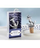 50 Nautical Anchor Wedding Wine Bottle Stopper Reception Favor Party Cor... - $119.98