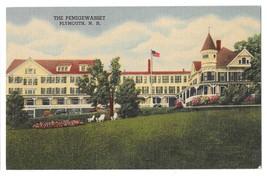 Pemigewasset House Vintage Plymouth NH Hotel Linen Postcard Curteich - $4.99