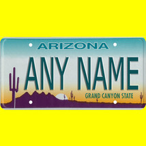 Custom State Golf Cart, Mobility Scooter, Go Cart, Baby Stroller License Plate - $12.99