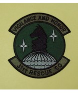 United States Air Force 31st Rescue Squadron Military Patch VIGILANCE AND HONOR - $10.99