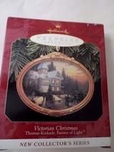 "HALLMARK ""VICTORIAN CHRISTMAS"" THOMAS KINKADE 1997 ORNAMENT 1ST IN SERIES - $9.89"