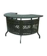 Outdoor bar table Elisabeth cast aluminum all weather patio furniture Br... - $1,435.50