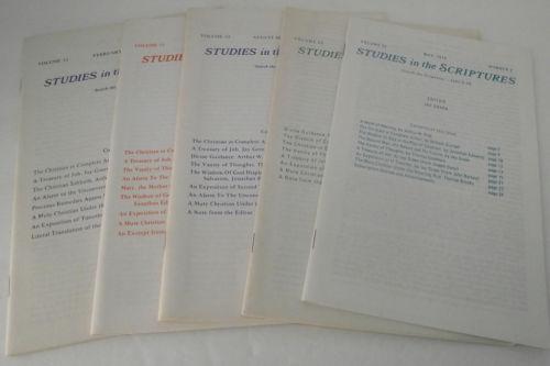Studies Scriptures Jay Green 1974 Bible Theology Author Pink Spurgeon Bible Lot