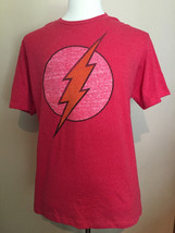 Flash DC Comics Originals Short Sleeve T Shirt Red 60% Cotton 40% Poly Size L - $19.80