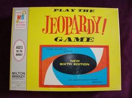 Vintage Milton Bradley 1964 Jeopardy Board Game Sixth Edition **COMPLETE** - $24.70