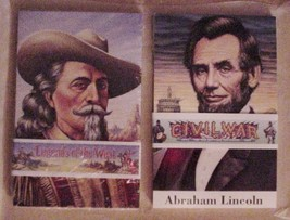 2 Sets of Civil War & Legends of the West & Civil War 1994 Postcards USP... - $24.95
