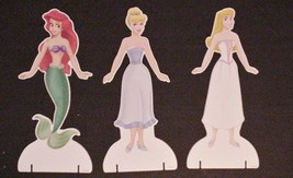 The Little Mermaid  Magnetic Paper Dolls Disney Princess Plastic Travel ... - $22.72