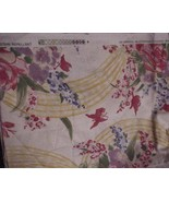 "ORIGINAL BLOOMCRAFT 100% COTTON FABRIC NEW ""MAY... - $15.79"