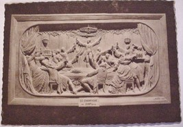 Antique WWI Era Champagne Pommery & Greno Reims 18 Post Card Booklet nud... - $16.50
