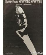 """1977 Sheet Music """"THEME FROM NY, NY""""  FRANK SIN... - $13.81"""