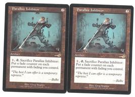 Parallax Inhibitor x 2, LP, Nemesis, Rare Artif... - $0.93 CAD