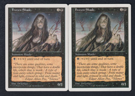 Frozen Shade x 2, CI, Fifth Edition, Common Black, Magic the Gathering - $0.57 CAD