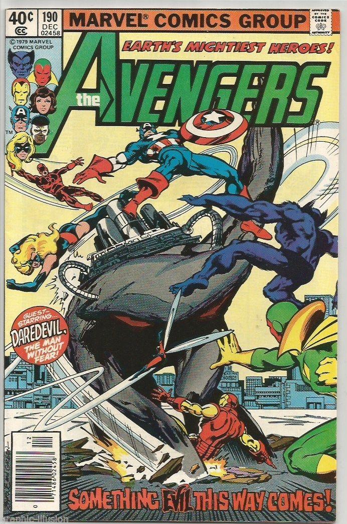 AVENGERS #190 Marvel Comics 1979 Thor Iron Man VISION VF BYRNE GREEN DD Beast