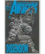 AVENGERS #363 Silver Embossed Cover MARVEL COMIC Dissension 30th Anniver... - $24.99