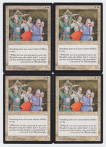 Ardent Militia x 4, LP, Weatherlight, Common White, Magic the Gathering - $0.77 CAD