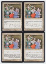 Ardent Militia x 4, LP, Weatherlight, Common White, Magic the Gathering - $0.78 CAD