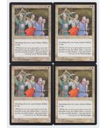 Ardent Militia x 4, LP, Weatherlight, Common White, Magic the Gathering - $0.77 CAD