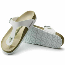 BIRKENSTOCK Gizeh BS THONG Sandals White, Size 9 - $75.99