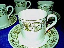 One Wedgwood demitasse cup and saucer Perugia Fine Bone China England  made - $15.19