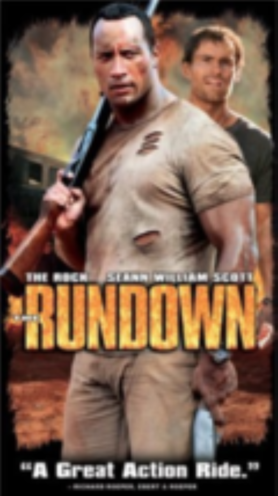 The Rundown Vhs