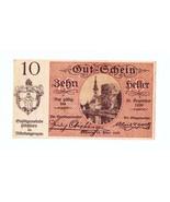 Austria Notgeld Pochlarn 1920 10 Heller Circula... - ₨340.81 INR