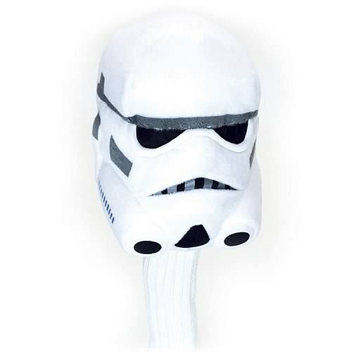 Star Wars White Stormtrooper Plush Golf Driver Headcover, Comic Images 15""