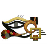 LARGE 52x29 Unique Contemporary Eye Wall Sculpture-home, office decor by... - $449.99