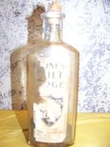 Antique medicine elixir apothecary bottle cork ... - $22.80