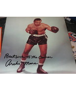 ARCHIE MOORE HAND SIGNED BOXING 8X10 PHOTO - $74.70
