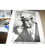 CEDRIC THE ENTERTAINER HAND SIGNED 8X10 PHOTO - $27.95