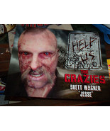 BRETT WAGNER SIGNED THE CRAZIES FX 8X10 COLOR PHOTO HELP US - $14.00