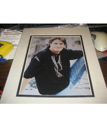 LUKE PERRY HAND SIGNED MATTED 8X10 PHOTO - $41.97