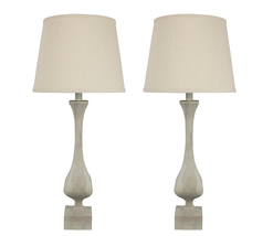Urbanest Set of 2 Fairview Table Lamps, 30-inch Tall - $129.99
