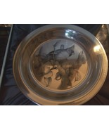 """PRISTINE 1973 STERLING SILVER COLLECTOR PLATE """"THE CARDINAL"""" FRANKLIN MINT - $200.00"""
